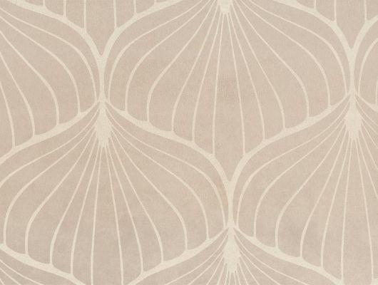 """Английские обои из искусственной замши на флизелиновой основе Fardis """"FUJI"""",арт.10051 для спальни, кабинета,с крупным узором. Коричневые.Купить в Москве., FUJI, Обои для гостиной, Обои для спальни, Флоковые обои"""