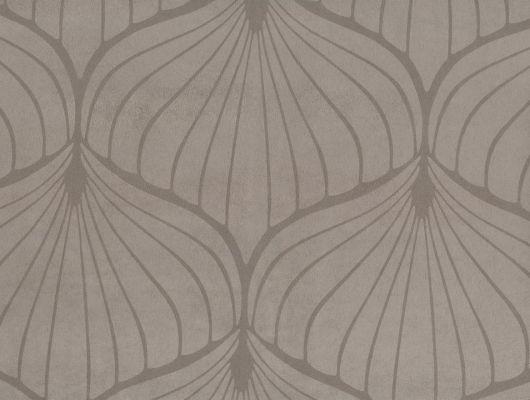 """Английские обои из искусственной замши на флизелиновой основе Fardis """"FUJI"""",арт. 10053 для спальни, кабинета,с крупным узором. Серые.Купить в Москве., FUJI, Обои для гостиной, Обои для кабинета, Обои для спальни, Флоковые обои"""