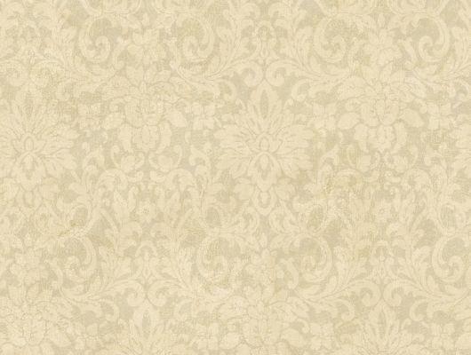 """Купить обои бумажные с клеевой основой  York - Hand Painted, арт. HP0341. Дизайнерские классические обои с узором """"Дамаск"""". Фон кракелюр.Растительный орнамент . Обои с классическим вензелем . Обои для спальни,гостиной, прихожей. Заказать в интернет-магазине. Доставка в Москве.Обои для стен., Hand Painted, Обои для гостиной, Обои для кабинета, Обои для кухни, Обои для спальни"""