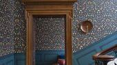 """Английские флизелиновые обои, арт. 118/14032 """"Library Frieze"""", бренда Cole & Son , из коллекции Great Masters . Бордюр для гостиной, в виде библиотечных фризов- является главным элементом архитектуры . Купить в Москве с бесплатной доставкой, широкий ассортимент."""