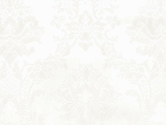 Виниловые обои на бумажной основе напечатаны методом горячего тиснения. Обои металлизированы и имитируют шелковое сияние. Арт.№ 29432 - классический узор широко известных дамассков в масштабе средних размеров и жемчужном цвете. Виниловые обои, широкий ассортимент, каталог обоев, Silks & Textures II, Обои для гостиной, Обои для кухни