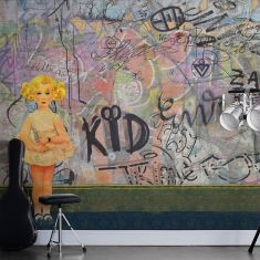MRPERSWALL. Коллекция Street Art. Артикул p201801-8 Заказать обои