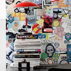 MRPERSWALL. Коллекция Street Art. Артикул p202701-5 Заказать обои