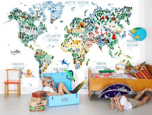 Обои art P270505-8 Флизелин Mr Perswall Швеция, Traveller, Детские обои, Детские фотообои, Фотообои