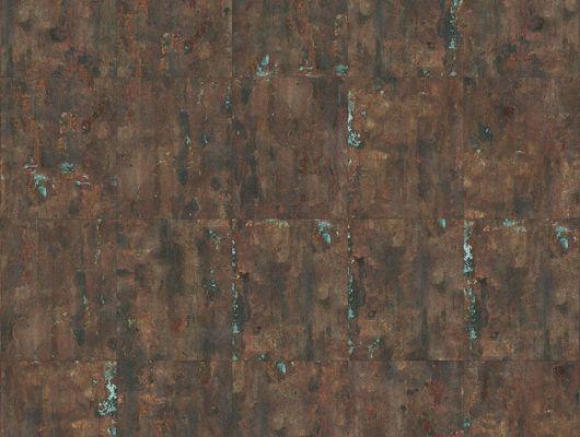 Флизелиновые фотопанно из Швеции коллекция CAPTURED REALITY No 2 от Mr.PERSWALL под названием ETCHED COPPER PLATES. Панно в стиле лофт имитация меди рыжевато-коричневого цвета. Фотообои для спальни, панно для гостиной, фотопанно для кабинета. Большой ассортимент, онлайн оплата, купить обои, Captured Reality No 2, Обои для гостиной, Обои для кабинета, Обои для кухни, Фотообои