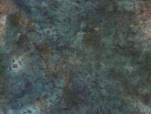 Флизелиновые фотопанно из Швеции коллекция CAPTURED REALITY No 2 от Mr.PERSWALL под названием OXIDATED. Панно имитирующее окисленную металлическую поверхность, панно в переливающихся оттенках бирюзового и синего цвета. Фотообои для спальни, панно для гостиной, фотопанно для кабинета. Купить обои в интернет-магазине Одизайн, бесплатная доставка, онлайн оплата, Captured Reality No 2, Обои для гостиной, Обои для кабинета, Обои для кухни, Обои для спальни, Фотообои, Хиты продаж