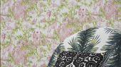 Сюжетные обои для квартиры от Christian Lacroix в стиле жуи, с изображением растительности, людей, животных и предметов обихода с оплатой онлайн