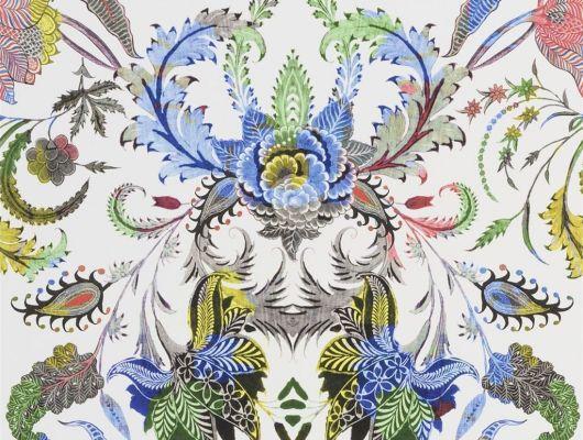 Флизелиновые обои с классическим растительным орнаментлм в стиле дамаск, идеально подойдут для оформления гостиной или спальни., Au theatre ce soir, Обои для гостиной, Обои для кабинета, Обои для спальни