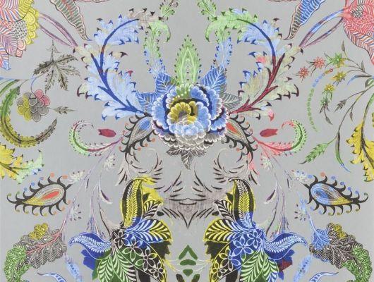 Обои Christian Lacroix арт. № 1007/03. Классический растительный орнамент в стиле дамаск, идеально подойдут для оформления гостиной или спальни. Стильный интерьер, стильные обои, стоимость., Au theatre ce soir, Обои для гостиной, Обои для кабинета, Обои для спальни