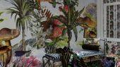 Фотопанно PCL7021/01 от Christian Lacroix - это Цветущий фантастический сад, завораживающий зрителя, который можно купить в интернет магазине Одизайн
