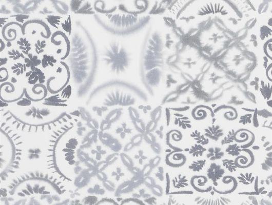 Купить Обои для спальни под плитку бежевого цвета , дизайн Pesaro арт. PDG1021/02 из коллекции Majolica от Designers guild в интернет-магазине, Majolica, Обои для гостиной, Обои для кухни