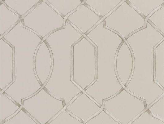 Обои флизелиновые для спальни арт. PDG1027/03 из коллекции Majolica от Designers guild с геометрическим узором в большом ассортименте в салоне о-Дизайн, Majolica, Обои для гостиной, Обои для кабинета, Обои для спальни