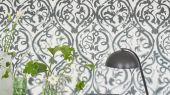 Купить Дизайнерские английские фотообои для кабинета арт. PDG1029/02 из коллекции Majolica от Designers guild в восточной стилистике серого оттенка.Смотреть в салоне в Москве.