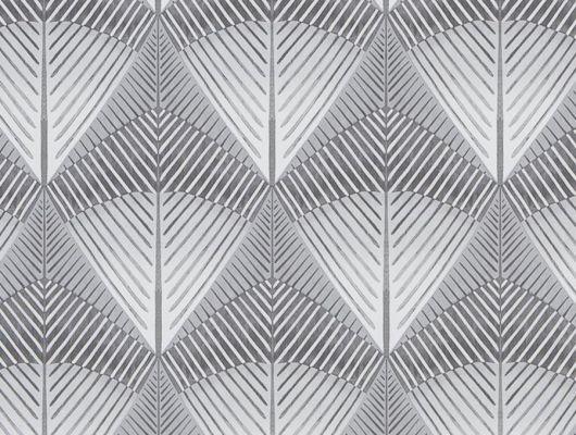 Дизайнерские обои флизелиновые Designers guild - Tulipa Stellata, арт.PDG1032/02.С геометрическим узором. Для гостиной заказать с доставкой в Москве.Большой ассортимент., Tulipa, Обои для кабинета