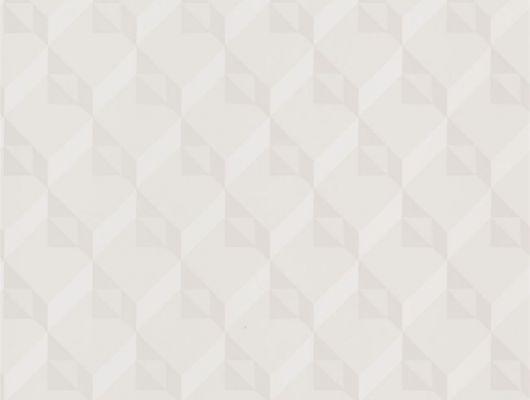 Дизайнерские обои в детскую арт. PDG1055/01  из коллекции Mandora от Designers Guild, Великобритания с современным геометрическим принтом  в молочно-белых тонах. Приобрести  в интернет-магазине  Одизайн, онлайн оплата, бесплатная доставка, Mandora, Обои для гостиной, Обои для кабинета, Обои для спальни
