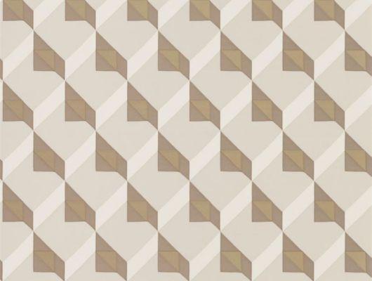 Оформить заказ стильных обоев для столовой  арт. PDG1055/02 из коллекции Mandora от Designers Guild, Великобритания с современным геометрическим рисунком в бежево-коричневых тонах  в салоне обоев в Москве, онлайн оплата, бесплатная доставка, Mandora, Обои для гостиной, Обои для кабинета, Обои для спальни