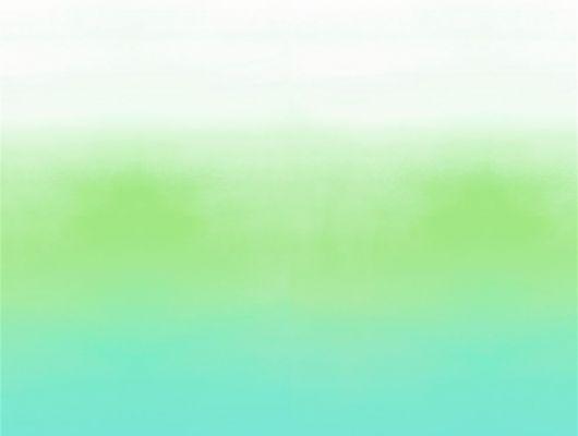 Фотопанно арт. PDG1059/01  из коллекции Mandora от Designers Guild, Великобритания с градиентной растяжкой в сине-зеленых тонах. Оформить заказ на сайте Odesign.ru, онлайн оплата, Mandora, Обои для гостиной, Обои для кухни, Обои для спальни