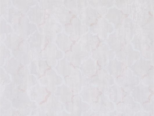 Прелестные обои для кабинета арт. PDG650/05  из коллекции Shanghai Garden от Designers Guild, Великобритания с изображением геометрического рисунка в классическом стиле в серо-розовом цвете с эффектом старения на складе в Москве, Shanghai Garden, Обои для гостиной, Обои для кухни, Обои для спальни