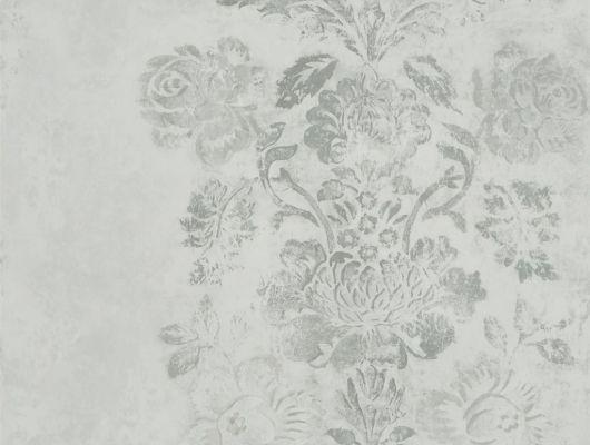 Выбрать английские обои в спальню арт. PDG674/05 из коллекции Caprifoglio от  Designers guild в крупными цветами насером фоне в каталоге.Обои в интерьере, Caprifoglio, Обои для гостиной, Обои для кабинета, Обои для кухни, Обои для спальни
