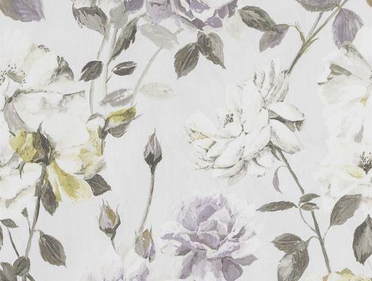 Обои в гостиную Couture Rose арт.PDG711/03 из коллекции Jardin Des Plantes от Designers guild в нежных тонах с крупным рисунком купить в Москве., Jardin Des Plantes, Обои для гостиной, Обои для кухни, Обои для спальни
