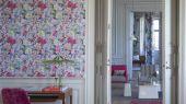 Дизайнерские обои в спальню PDG712/01 арт.PDG712/01 из коллекции Jardin Des Plantes от Designers guild  с крупным узором купить недорого.Фото в интерьере.