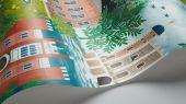 """Английские флизелиновые обои, арт. 118/1001 """"Palace Tales"""", бренда Cole & Son , из коллекции Great Masters . Обои в гостиную, с ярким историческим рисунком, с изображением сказочных Дворцов . Купить в Москве с бесплатной доставкой, широкий ассортимент."""
