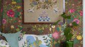 Выбрать Фотообои для гостиной SOMMAR ,с ярким цветочным рисунком, от Borastapeter из коллекции Scandinavian Designers III из каталога