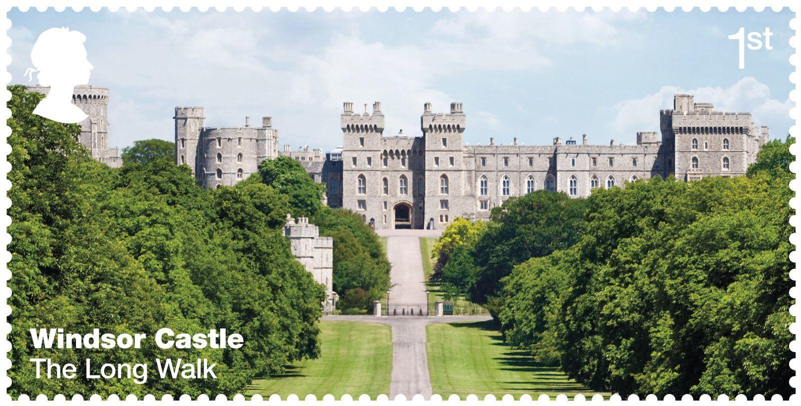 Windsor_Castle_on_Royal_Mail_stamps05