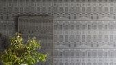 """Английские флизелиновые обои, арт. 118/16036 """"Wolsey Stars"""", бренда Cole & Son , из коллекции Great Masters . Обои в гостиную, с графическим рисунком, с изображением стилизованных звёзд. Купить в Москве с бесплатной доставкой, широкий ассортимент."""