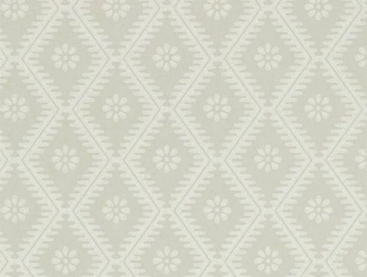 Заказать флизелиновые обои в кабинет с геометрическим принтом  Witney Daisy  из коллекции Littlemore от Sanderson на сайте odesign.ru, Littlemore, Обои для гостиной, Обои для кабинета, Обои для спальни