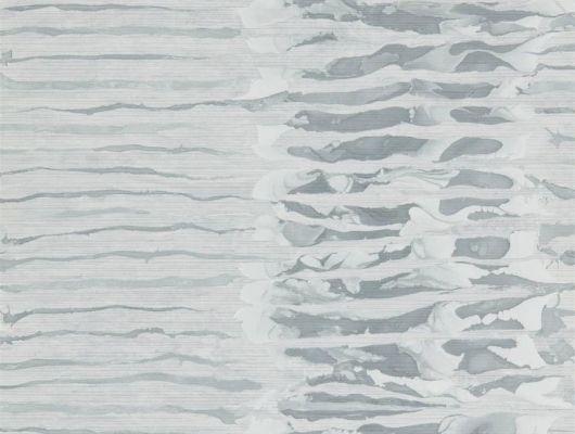 Английские обои для коридора, арт. 112577 из коллекции Anthology 07, Anthology, Великобритания с современной размытой полоской заказать в интернет-магазине.В интерьере, Anthology 07, Обои для гостиной, Обои для кабинета, Флизелиновые обои