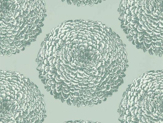Обои для спальни с цветочным принтом Elixity  коллекция Momentum 6 от Harlequi посмотреть в шоу-руме в Москве., Momentum 6, Обои для гостиной, Обои для кухни, Обои для спальни
