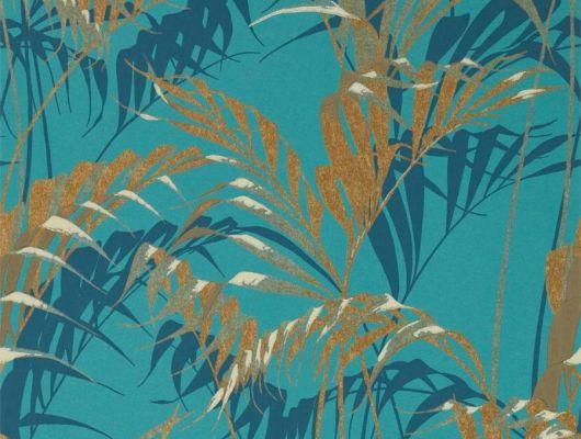 Подобрать обои на основе флизелина со спокойным рисунком пальмовых листьев арт. 216640 от Sanderson из коллекции The Glasshouse с бесплатной доставкой до дома, The Glasshouse, Обои для гостиной, Обои для спальни