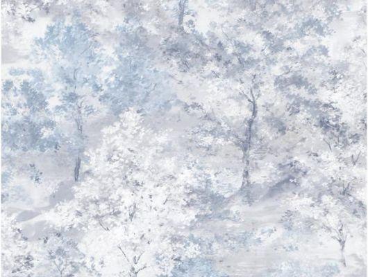 Флизелиновые обои Aura Global Fusion G56431.Обои с акварельным рисунком, голубые. Заказать с доставкой в Москве. Выбрать в каталоге в салоне., Global Fusion, Обои для гостиной, Обои для спальни