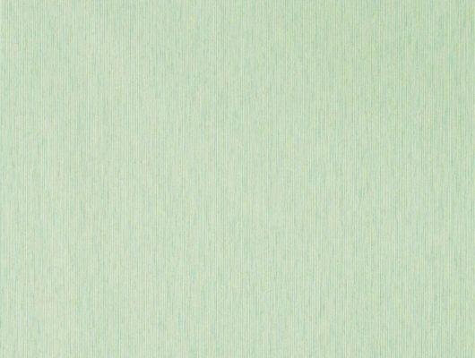 Обои в гостиную Caspian Strie арт. 216772 из коллекции Caspian, Sanderson,  Великобритания,травяного цвета с мелкой полоской купить недорого., Caspian, Обои для гостиной, Обои для кабинета