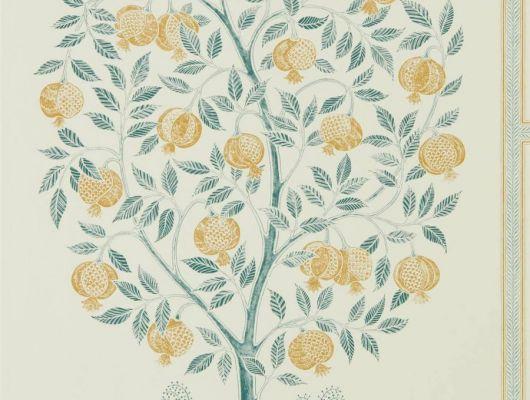 Обои Sanderson коллекция Caspian дизайн Anaar Tree арт. 216792, Caspian, Обои для гостиной, Обои для кабинета, Обои для кухни