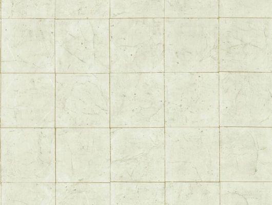 Выбрать дизайнерские обои Piastrella flint grey  с изображением состаренной плитки светло - серого цвета и серебристыми швами в каталоге, Folio, Обои для кабинета, Обои для спальни