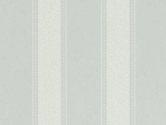 Выбрать дизайнерские обои Sonning Stripe в полоску нежного голубого цвета для спальни  из коллекции Littlemore от Sanderson в шоу-руме., Littlemore, Обои для гостиной, Обои для кабинета, Обои для спальни