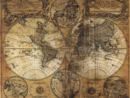 Флизелиновые обои Aura Global Fusion G45255.Фотообои карта мира. Купить с Москве. Бесплатная доставка. Недорого. В детскую,гостиную, Global Fusion, Обои для гостиной, Обои для кабинета