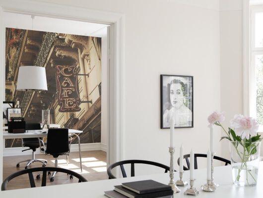 Обои art E031001-5 Флизелин Mr Perswall Швеция, City of Romance, Индивидуальное панно, Обои для гостиной, Флизелиновые обои, Фотография, Фотообои