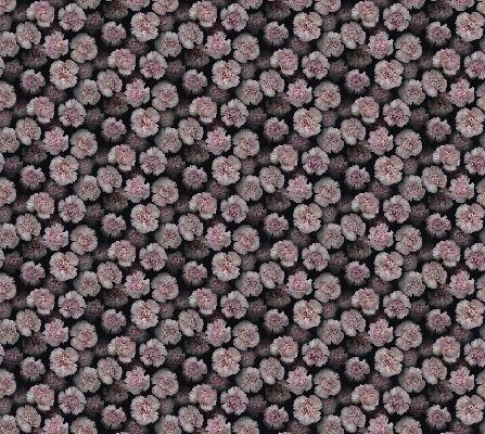 Заказное фотопанно с пышными белыми цветами с розовым обрамлением на черном фоне купить онлайн, What's Your Story, Индивидуальное панно, Фотообои