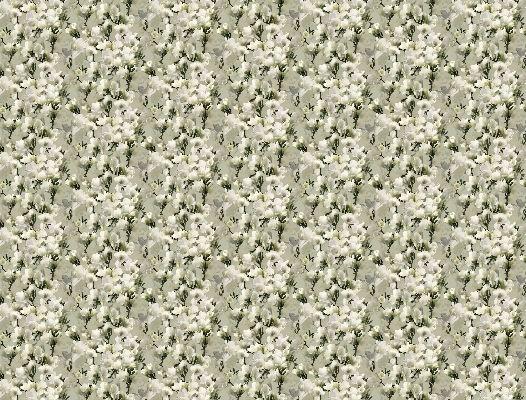 Заказное фотопанно с нежным и приятным рисунком в виде зацикленной белой лилии, What's Your Story, Индивидуальное панно, Фотообои