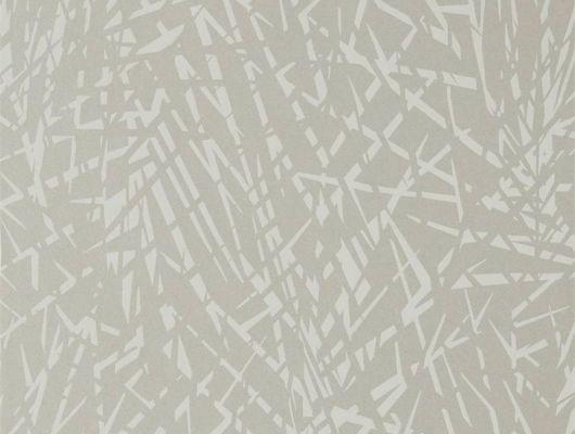 Продажа обоев для комнаты Lorenza арт. 112231 из коллекции Mirador, Harlequin с абстрактным изображением пальмовых листьев на перламутровом фоне с бесплатной доставкой., Mirador, Обои для гостиной, Обои для кабинета