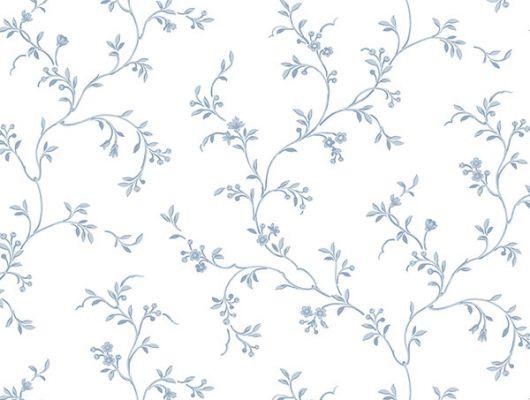 Обои бумажные с клеевой основой Aura  ,коллекция  Little England III,арт.AB2762 .Цветочный узор на белом  фоне .Растительный орнамент .Дизайнерские обои.Купить обои, для гостиной ,для спальни, интернет-магазин, онлайн оплата, бесплатная доставка, большой ассортимент., Little England III, Обои для гостиной, Обои для кухни, Обои для спальни