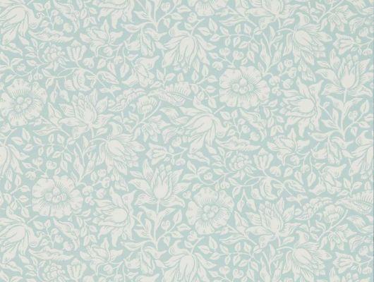 Купить дизайнерские обои для гостиной арт. 216679 из коллекции Melsetter от Morris, Великобритания с нежным цветочным рисунком недорого.Фото в интерьере, Melsetter, Бумажные обои, Обои для гостиной, Обои для спальни, Хиты продаж