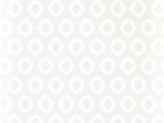 Флизелиновые обои в коридор Tallulah plain perfect white от Zoffany из коллекции Folio с современным геометричным орнаментом и мерцающими бликами доступны к заказу онлайн, Folio, Обои для гостиной, Обои для кабинета, Обои для кухни, Обои для спальни
