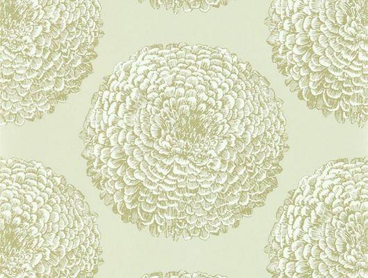Выбрать обои для гостиной с цветами в золотом цвете Elixity коллекция Momentum 6 от Harlequin на сайте odesign.ru, Momentum 6, Обои для гостиной, Обои для кухни, Обои для спальни