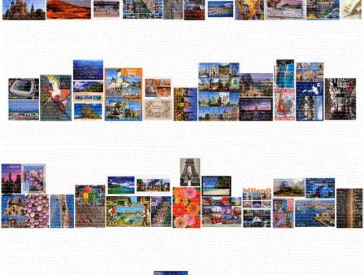 Обои art P112102-4 Флизелин Mr Perswall Швеция, Destinations, Обои для гостиной, Флизелиновые обои, Фотообои