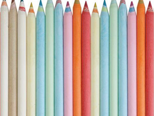 Фотообои для детей с яркими цветными карандашами, Hide & Seek, Детские обои, Детские фотообои, Фотообои