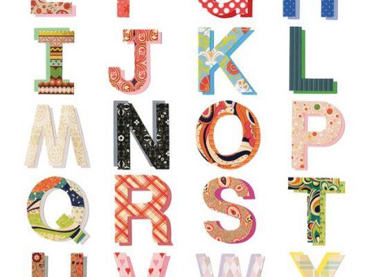 """Детские фотопанно """"Произноси и говори"""" с английским красочным алфавитом, Hide & Seek, Детские обои, Детские фотообои, Флизелиновые обои, Фотообои"""